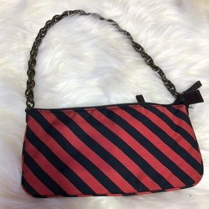 Stripe little purse
